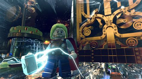 Kaset Bd Ps4 Lego Marvel Superheroes lego marvel heroes ps4 impact
