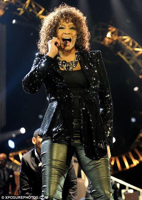 whitney houston disappoints london on the latest leg of