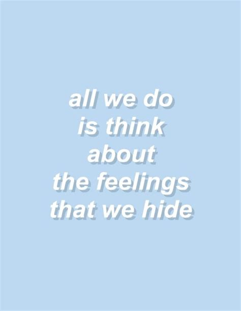 all about you lyrics loveletters ep aesthetic bambi blue feelings text image 3635105 by