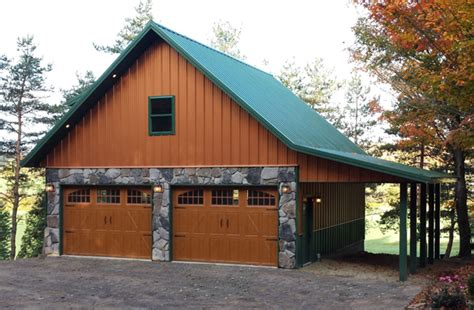 Real Sheds And Barns by Real Metal Hobby Garage W Wainscot 6 Pictures