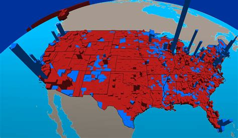 Red Blue State Map by The Conservative Defender Simply Stated Political Ideology