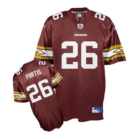 replica clinton portis 26 jersey purchase program p 1168 reebok s replica burgundy home throwback jersey