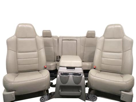 Replacement Super Duty 2008 2009 2010 Stone Leather Seats