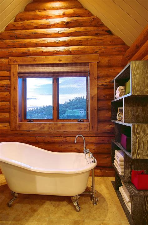 Rustic Bathroom Ideas For Small Bathrooms by 45 Rustic And Log Cabin Bathroom Decor Ideas 2018 Amp Wall