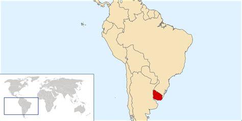 uruguay on the world map uruguay legalises same marriage worldnews