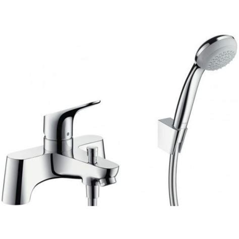Thermostatic Bath Shower Mixer Deck Mounted hansgrohe focus single lever bath shower mixer tap uk