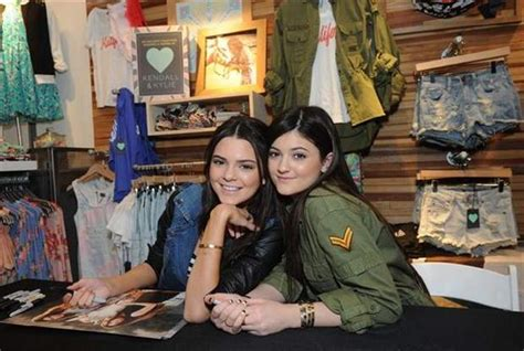 kylie jenner follows her older sisters footsteps by kendall and kylie jenner follow in their big sisters