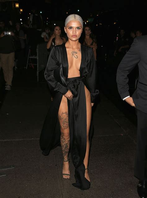 amina blue at harper s bazaar celebrates icons by carine