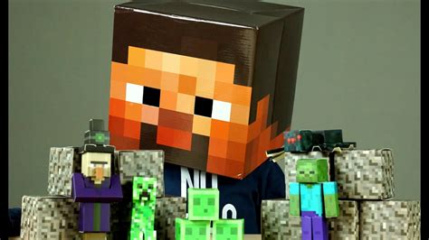 Minecraft Papercraft Review - minecraft papercraft building and review for