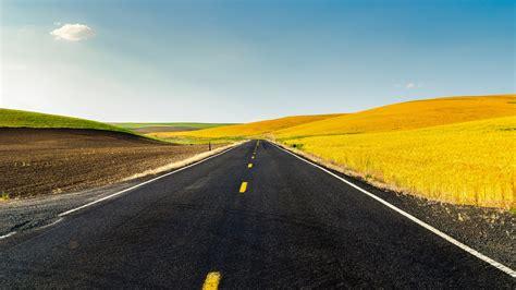 wallpaper 4k road landscape 4k ultra hd wallpaper road through farmland 4k
