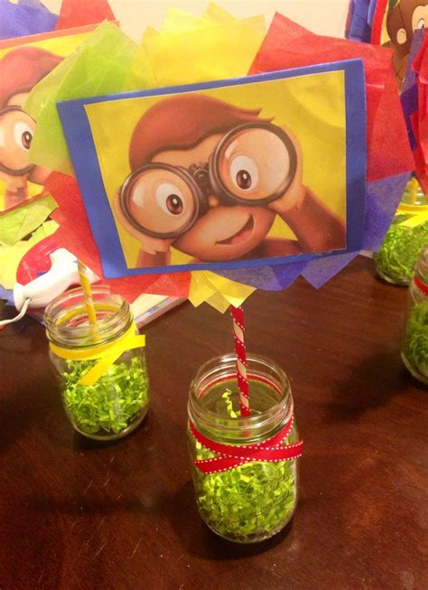 curious george centerpiece centerpieces pinterest