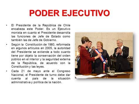 gobierno del estado de poder ejecutivo unidad el estado de chile ppt descargar