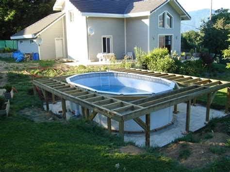 Amenagement Piscine Hors Sol 4057 by Quel Am 233 Nagement Pour Ma Piscine Hors Sol