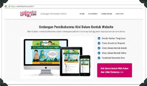 aplikasi untuk membuat undangan pernikahan online memadukan dua hati melalui undangan online undangan