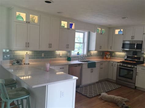 white cabinets blue backsplash houzz backsplashes joy studio design gallery best design