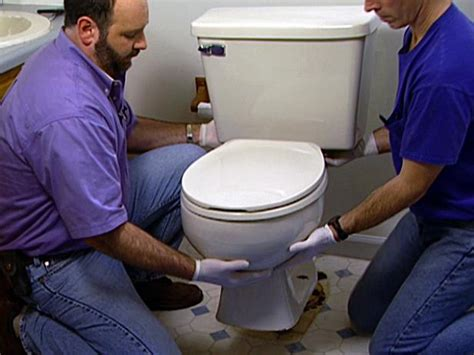 toilet plumbing diy how to install a new toilet how tos diy