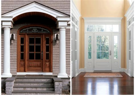 front door entrances entrance doors replacement massachusetts entry wood door