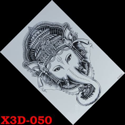 Tatto Stiker Temporary Waterproof Model Gajah Elephant popular thai buy cheap thai lots from china