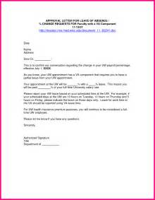 10 letter of leave from employer