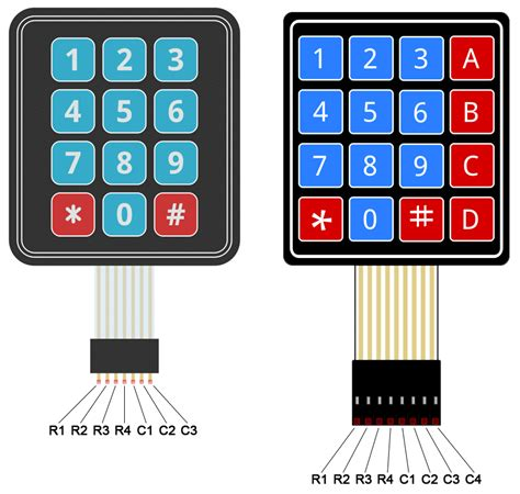 keyboard number tutorial how to set up a keypad on an arduino circuit basics