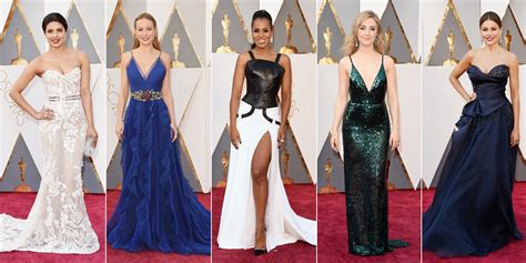 best oscar 2017 best oscars dresses carpet dresses from the