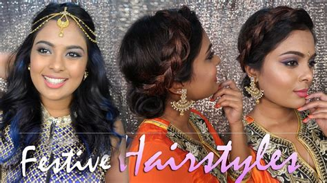 hairstyles for party suits 2 glamorous quick easy party hairstyles for indian wear