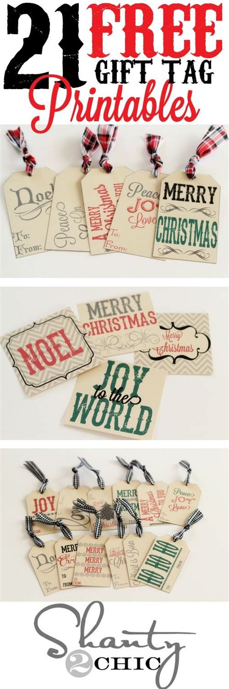 fun free christmas printables roundup for 2016 the best free christmas printables gift tags holiday