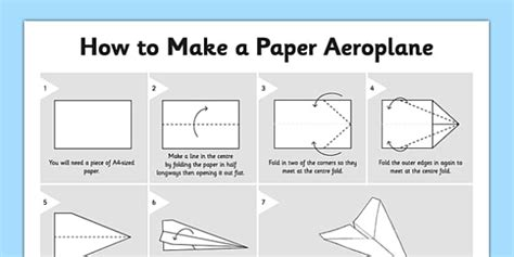 How Do You Make Paper Aeroplanes - how to make a paper aeroplane how to make a paper aeroplane