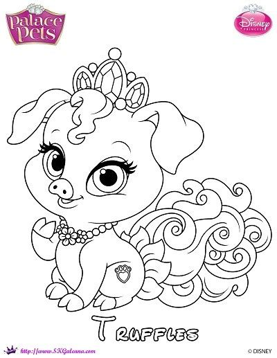 Princess Palace Pets Coloring Page Of Truffles Skgaleana Disney Princess Pets Coloring Pages Free Coloring Sheets