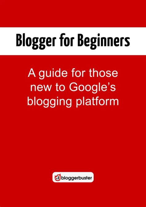 blogger tutorial for beginners pdf blogger for beginners pdf version