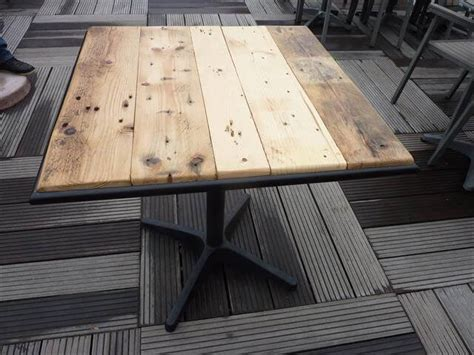 Pallet Wood Table Top Metal Frame Pallet Wood Table Top 99 Pallets