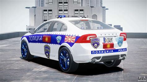 volvo  macedonian police els dlya gta