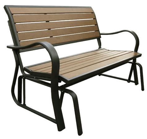 shed stagecoach glider w table lifetime glider bench wood lifetime outdoor bench wood