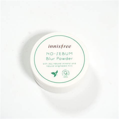 Harga Innisfree No Sebum Blur Powder innisfree no sebum blur powder review