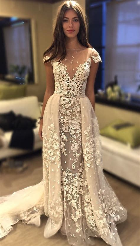 Wedding Dress Overlay by We Just The Overlay Skirt On This Bertabridal