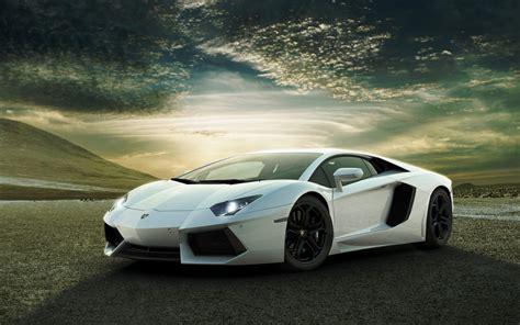 White Lamborghini White Lamborghini Aventador Wallpaper Auto Motor Sport