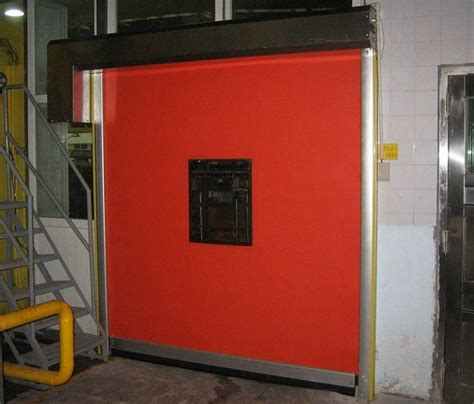 Insulated Roll Up Garage Door by High Fabric Curtain High Speed Roll Up Door Insulated