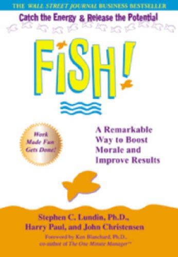 libro fish a remarkable way biography of author paul christensen booking appearances