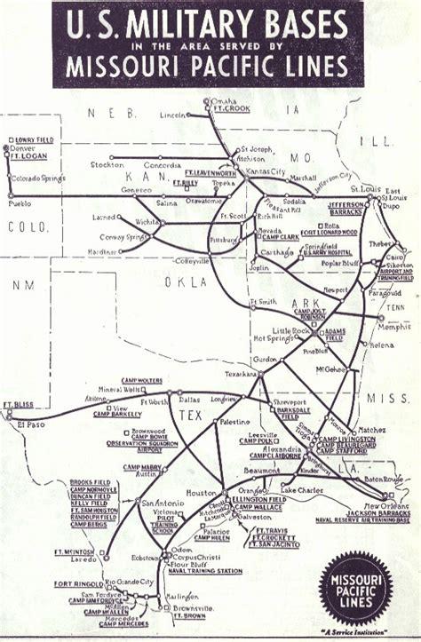 missouri pacific railroad map history railroads and the in san antonio