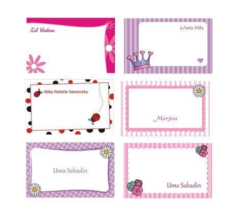 imagenes infantiles tarjetas dise 241 os de tarjetas personales infantiles imagui