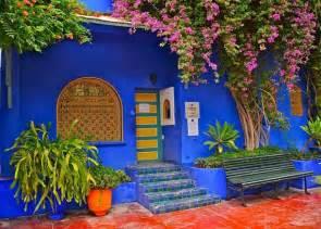 Set de table maroc marrakech jardin majorelle 1 cuisine et service