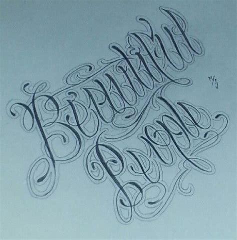 tattoo fonts reversible beautiful script fonts tattoos by tat