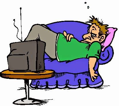 Clipart Lazy tom s misc ramblings tv vs laziness