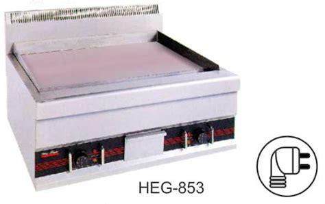 Heg 853 Mesin Electric Flat Griddlealat Pemanggang Listrik Portable jual alat panggang datar listrik electric flat griddle