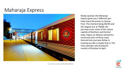 maharaja express train greatest rail journeys insight top 10 train journeys of india you should not miss