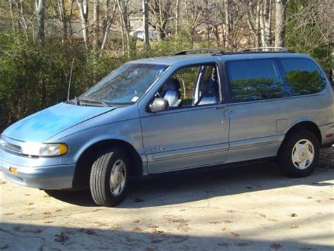 nissan quest 1994 good condition blue 1994 nissan quest gxe in tupelo