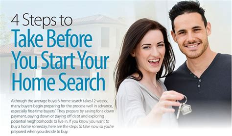 what steps to take when buying a house 4 steps to take before starting your home search ron