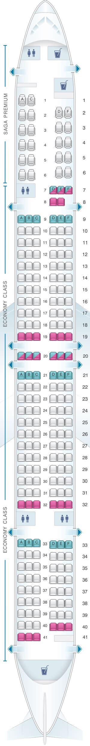 Icelandair 757 Seat Map Airplanes by Seat Map Icelandair Boeing B757 300 Seatmaestro