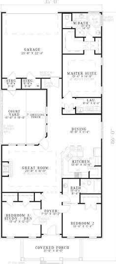multi family house plans with courtyard multi family house plan first floor 055d 0358 from