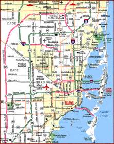 where is miami florida on the map map of miami travel map travelquaz